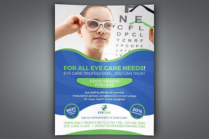 Optometrist & Optician Flyer Template