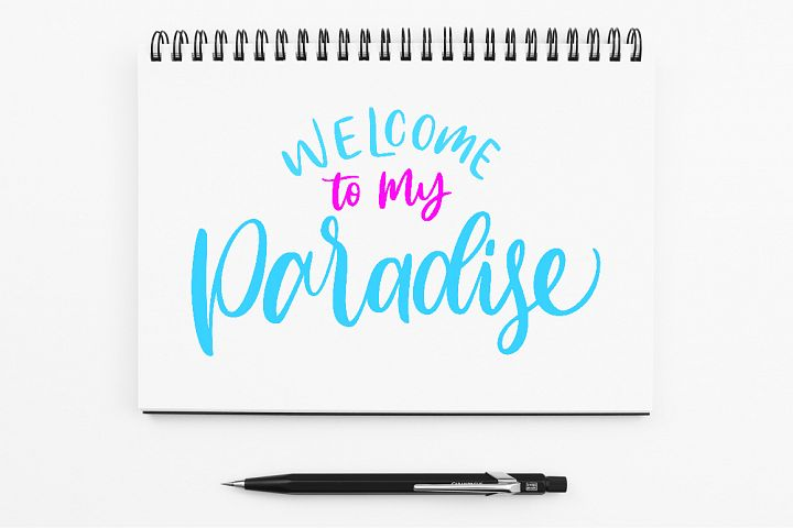 SVG - Welcome to My Paradise