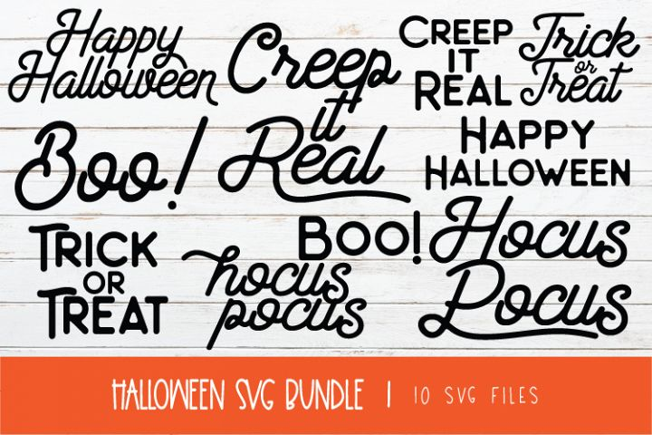 VINTAGE HALLOWEEN SVG BUNDLE