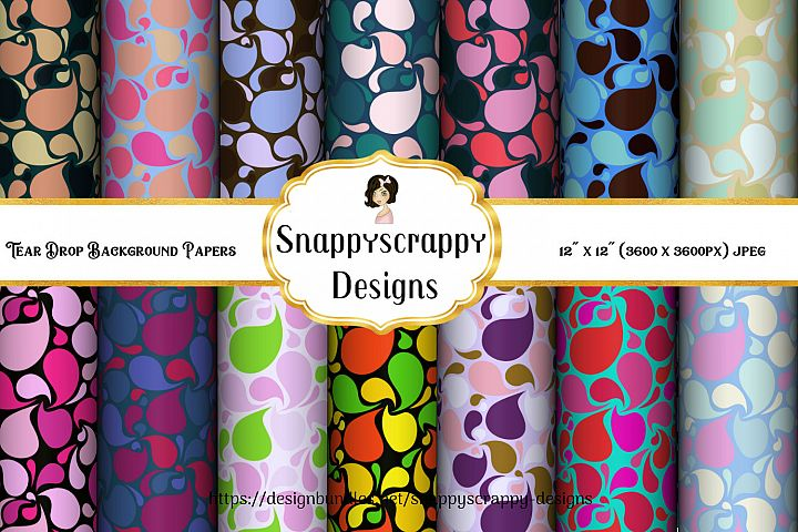 Patterned Background Papers