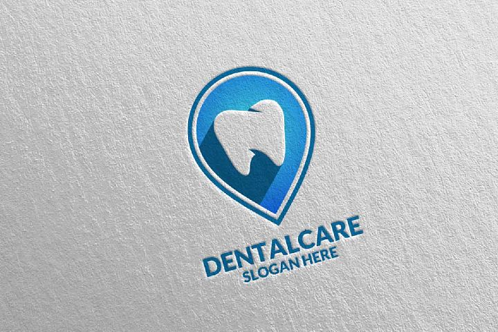Dental Logo, Dentist Stomatology Logo Design 35