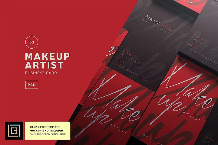 Makeup Artist Business Card - BC053