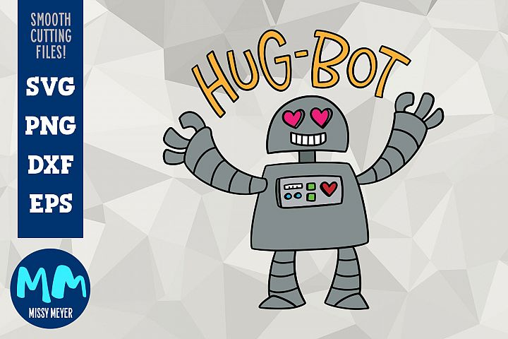 Hug-Bot - a cartoon robot programmed for hugging!