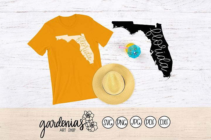 Florida Hand Lettered
