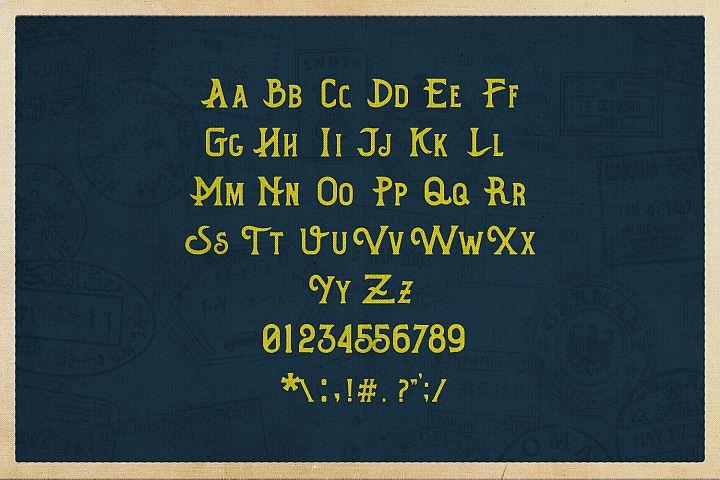 Hometown Vintage Typeface - Free Font of The Week Design 4
