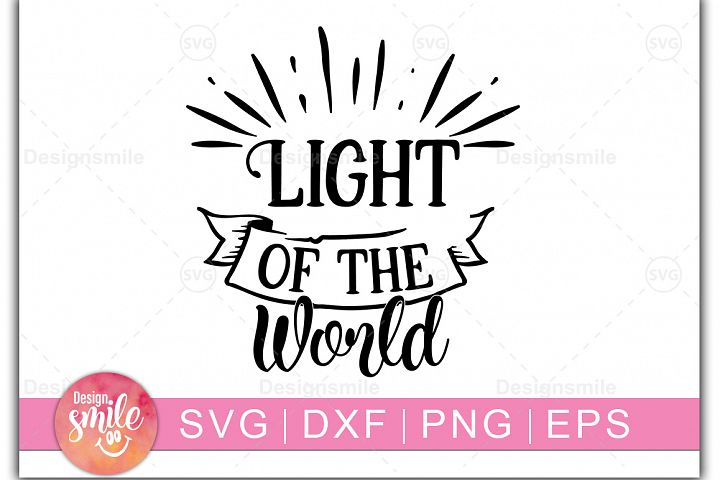 Christmas svg|Light of the World SVG
