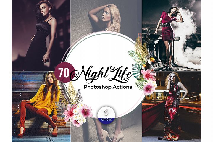 70 Night Life Photoshop Actions