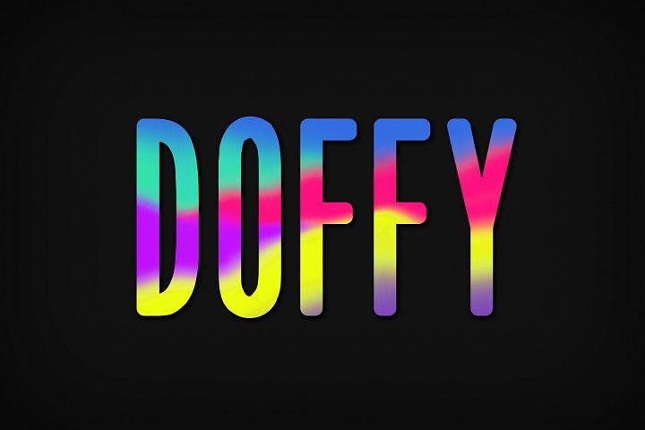 Doffy Font