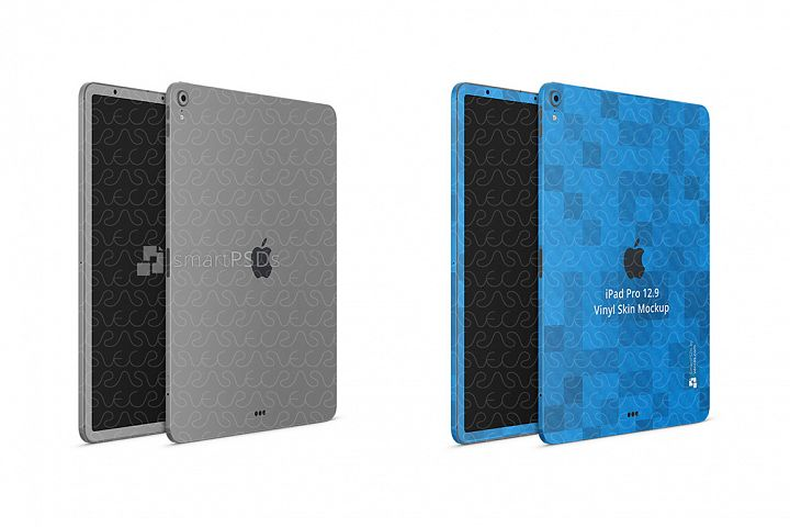 Apple iPad Pro 12.9-inch 3rd Gen. Tablet Skin Design Templat
