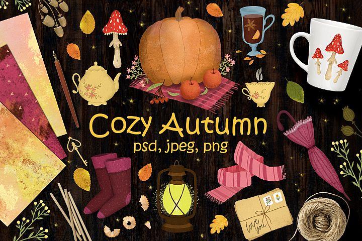Cozy Autumn clipart