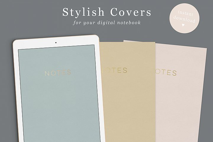 Digital Notebook Goodnotes Covers