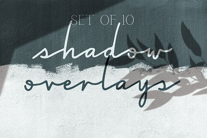 Shadow Overlays - Set of 10