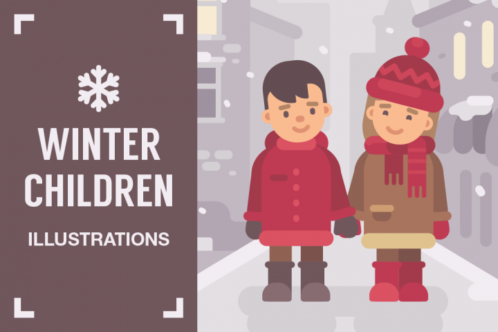 Winter children