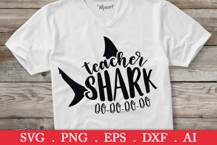 SALE! Teacher shark do do do svg, teacher life svg