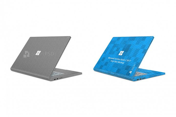 Microsoft Surface Book 2 Skin Design Template 2016-17