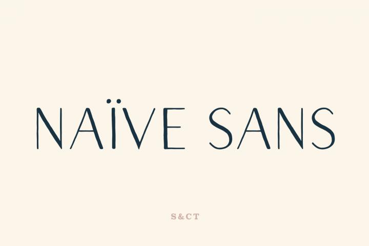 Naive Sans Family