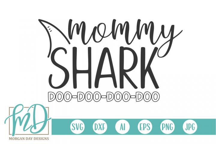 Mommy Shark SVG