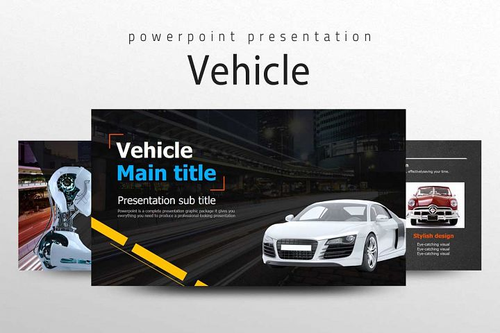Vehicle Presentation Template