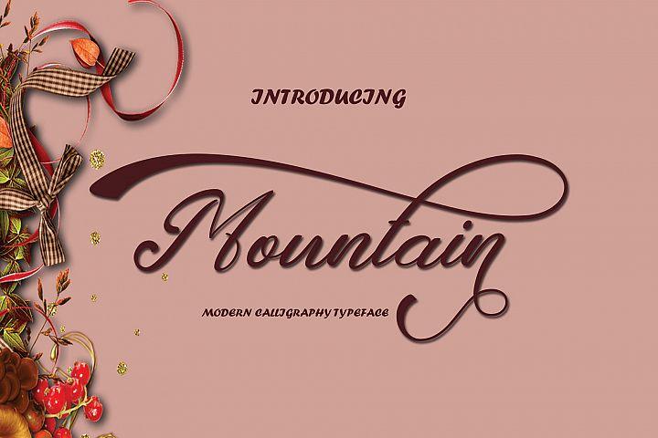 Mountain Script