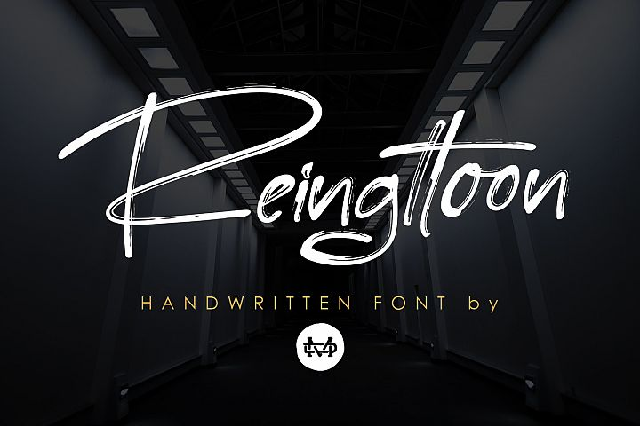 Reingttoon Handwritten Brush