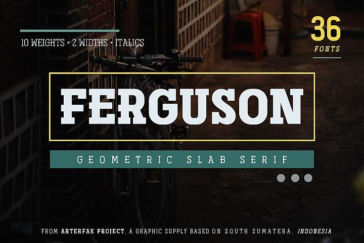Ferguson Slab Font Family