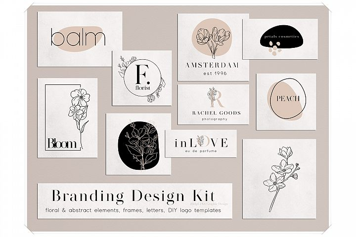 Branding Design Kit - DIY Logo
