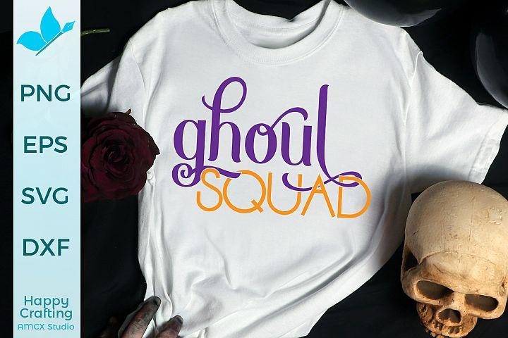 Ghoul Squad - A Pretty & Spooky SVG File