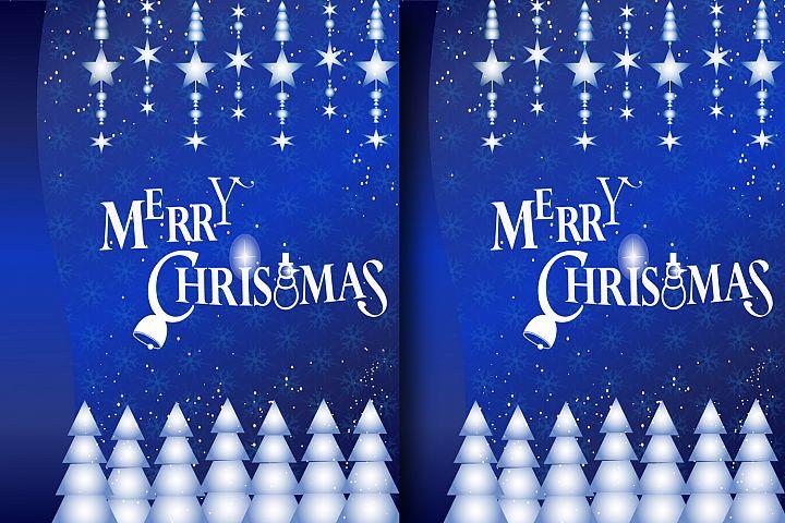 CHRISTMAS GREETING CARD -DIGITAL PAPER