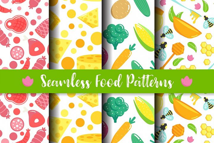Seamless Food Patters