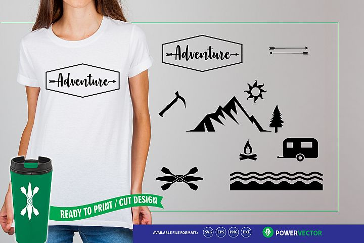 Adventure Clipart - Outdoor SVG collection