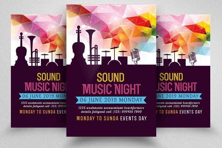 Music Sound Flyer Template