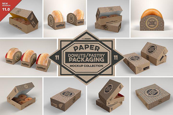 VOL.11 Food Box Packaging MockUps