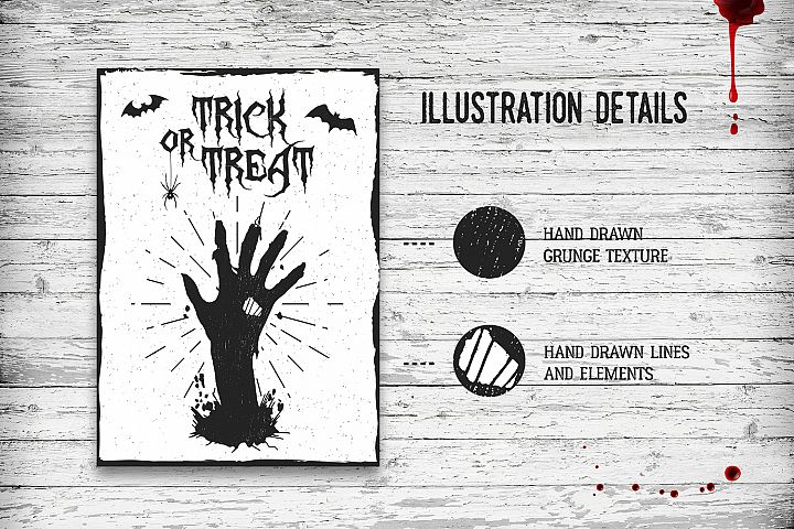 Halloween. 20 Greeting Cards - Free Design of The Week Design1
