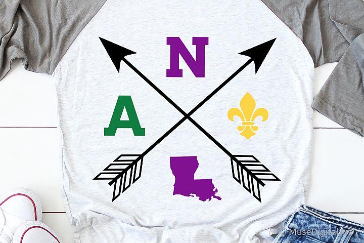 Mardi Gras Svg, Nola Svg, Kids Mardi Gras Svg Louisiana Svg