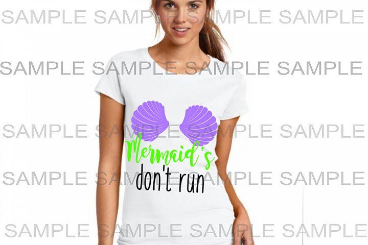 Mermaids dont run, design file, shirts, svg, .studio3