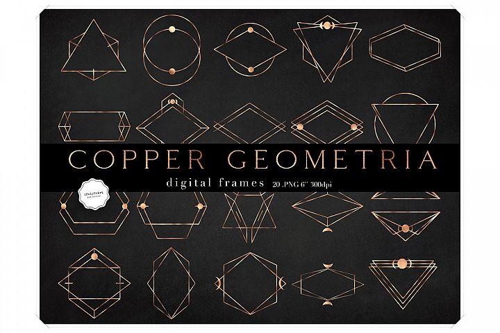 Geometric Frames Clipart - Gopper Digital Frames