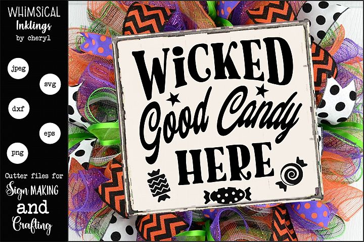 Wicked Good Candy SVG example