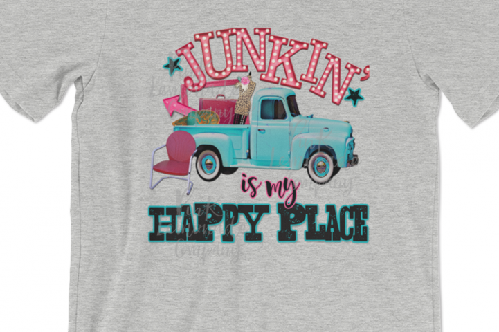 Junkin is My Happy Place digital file