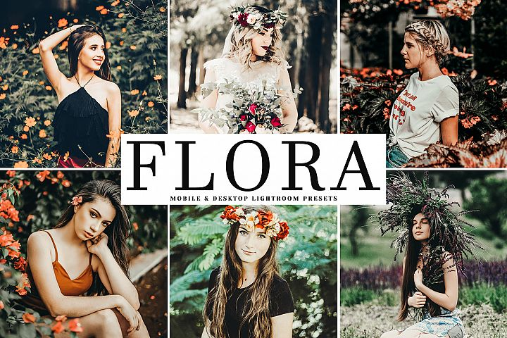 Flora Mobile & Desktop Lightroom Presets