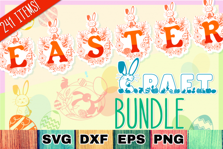 Easter SVG Mega Bundle - SVG Cut Files & Alphabets
