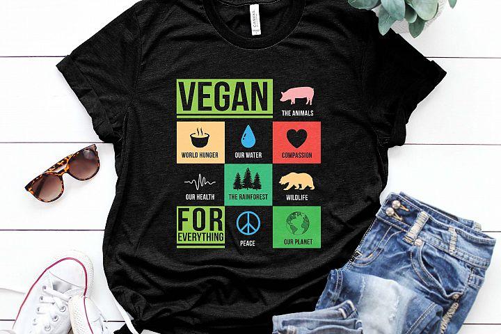 Vegan for everything Printable