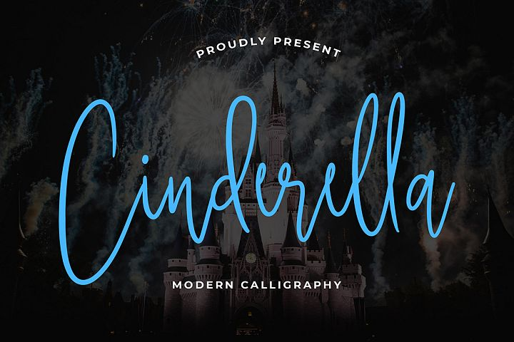 Cinderella Calligraphy Font