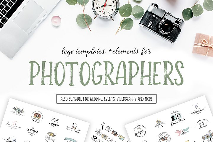 Photographers Logo Pack