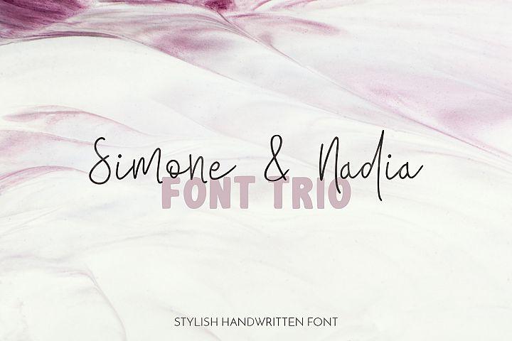 Simone & Nadia Font Trio