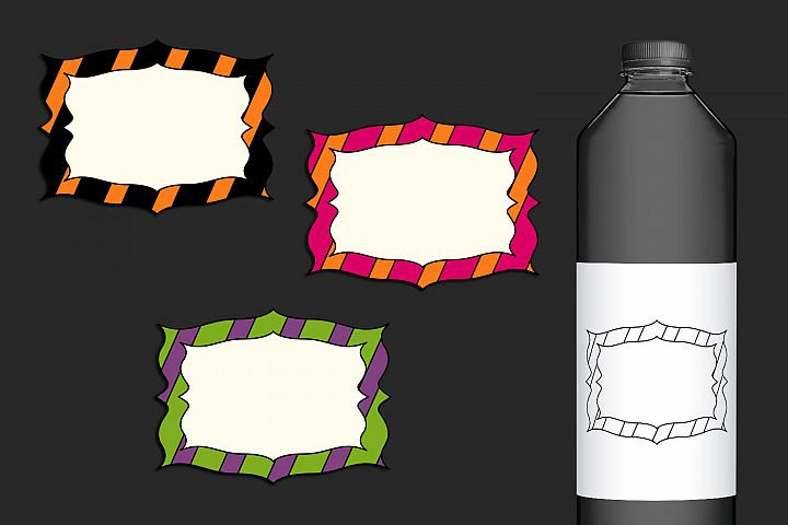 Halloween clip art graphics and illustrations example 3