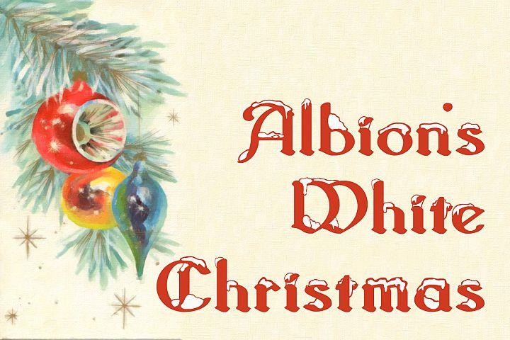 Albions White Christmas