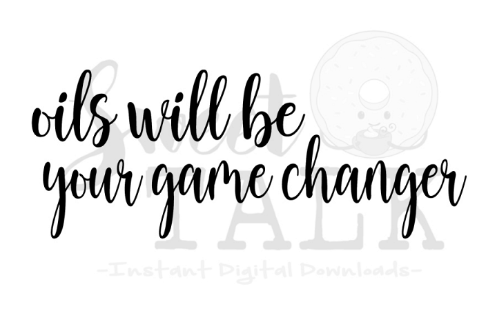 Oils will be your game changer svg-digital