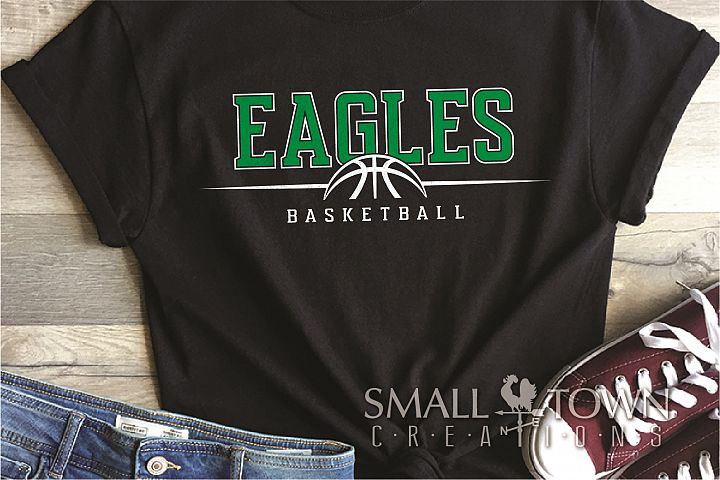 Eagle, Eagle Basketball, Team, logo, PRINT, CUT & DESIGN