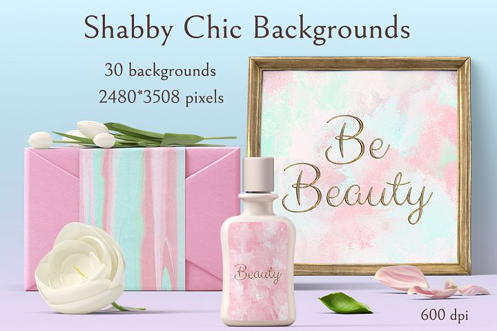 Shabby Chic Backrounds example