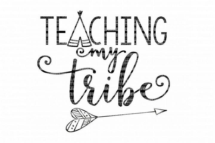 Teaching My Tribe School SVG example 3